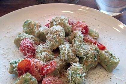 Bärlauch-Gnocchi mit frischem Bärlauch 11