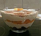 Weihnachtliches Dessert (Bild)