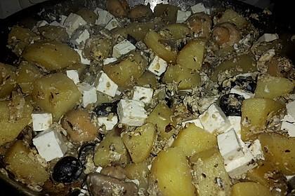 Bratkartoffeln mediterran