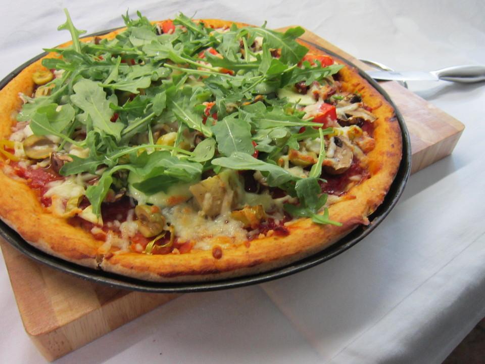 gesunde pizza gemüse rezepte | chefkoch.de - Gesunde Schnelle Küche