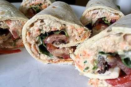 Thunfisch Wraps 4