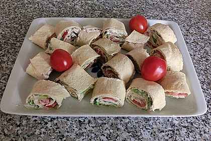 Thunfisch Wraps 3