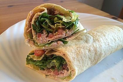 Thunfisch Wraps 1