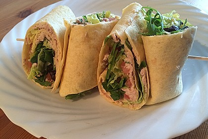 Thunfisch Wraps 2