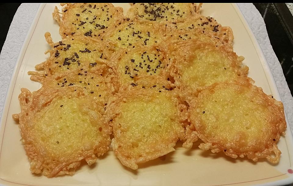 low carb parmesan gouda chips rezept mit bild von mena24. Black Bedroom Furniture Sets. Home Design Ideas