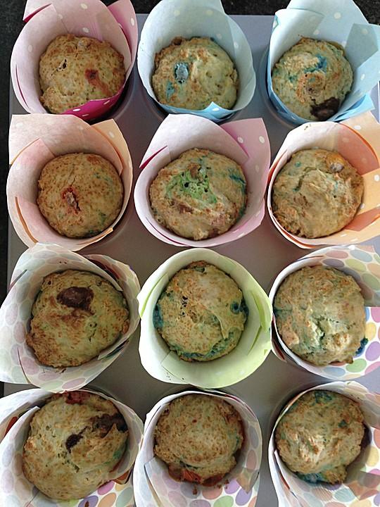 smartie muffins rezept mit bild von lysanne20. Black Bedroom Furniture Sets. Home Design Ideas