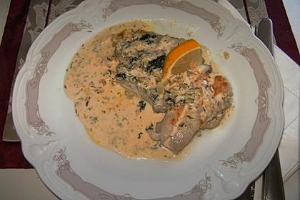 Dill-Curry-Honig-Sauce zu Fisch und Reis 24
