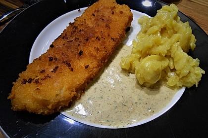 Dill-Curry-Honig-Sauce zu Fisch und Reis 13