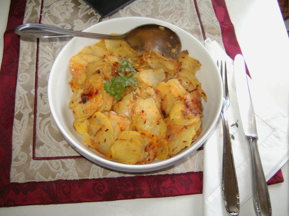 Bratkartoffel aus rohen kartoffeln