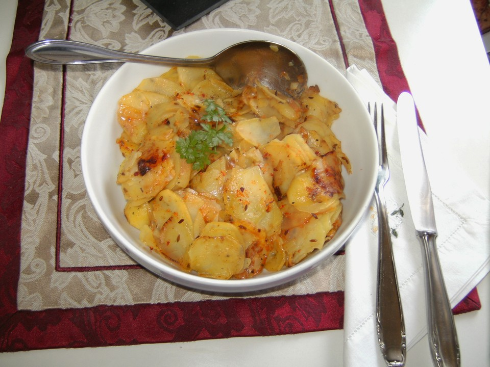 Rezept bratkartoffeln aus rohen kartoffeln