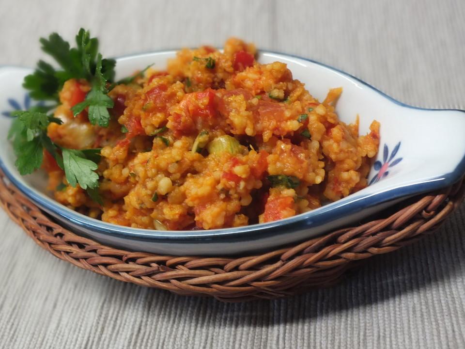 Sommerküche Chefkoch : Linsen bulgur salat von viniferia chefkoch