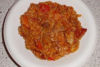 Serbisches Reisfleisch im Schnellkochtopf 4