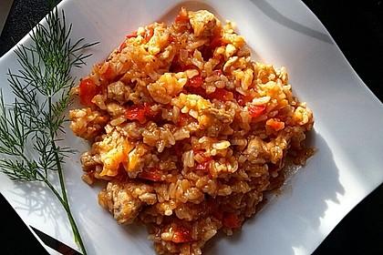 Serbisches Reisfleisch im Schnellkochtopf 1