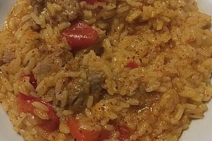 Serbisches Reisfleisch im Schnellkochtopf 2