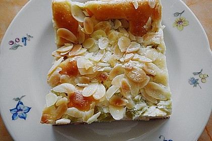 Rhabarber-Buttermilch-Quark Kuchen 3