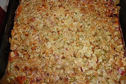 Rhabarber-Buttermilch-Quark Kuchen 4