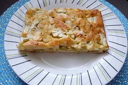 Rhabarber-Buttermilch-Quark Kuchen