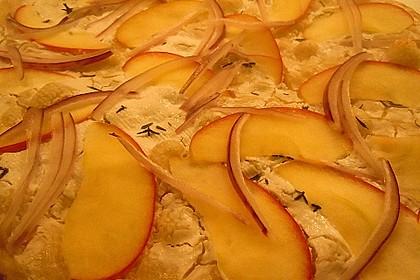 Apfel-Flammkuchen 1