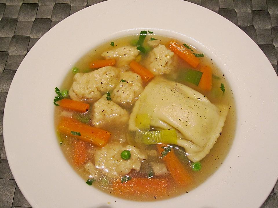 maultaschensuppe rezepte chefkoch de