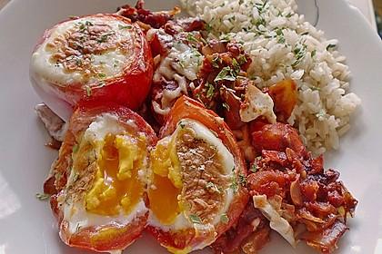 Eier im Tomatenhaus 1