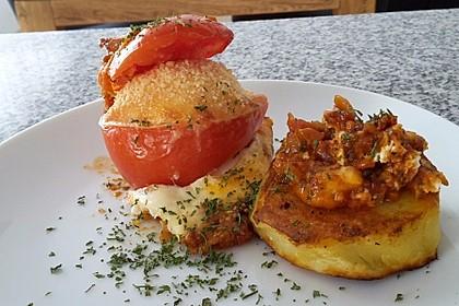Eier im Tomatenhaus 2