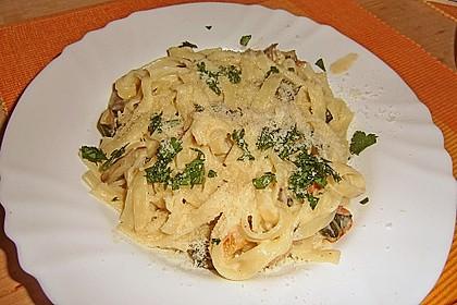 Mangold - Tomaten - Senf - Sahne - Tagliatelle 15