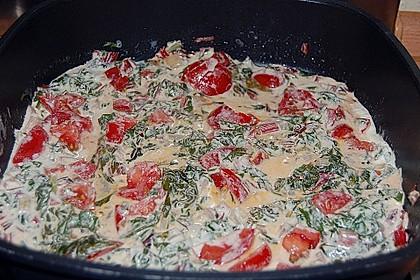 Mangold - Tomaten - Senf - Sahne - Tagliatelle 24