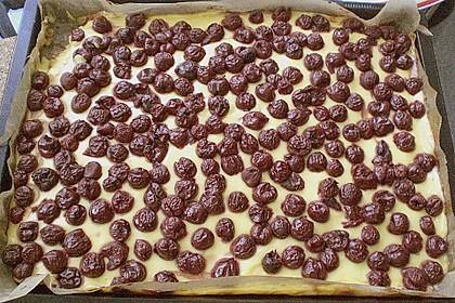 Kirsch - Schmand - Blechkuchen 150
