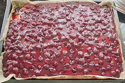 Kirsch - Schmand - Blechkuchen 129