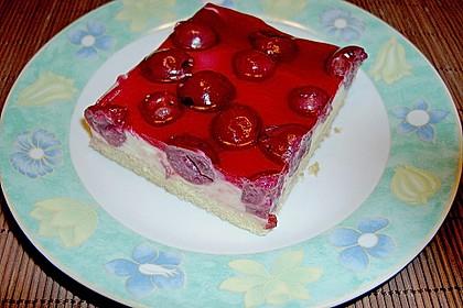 Kirsch - Schmand - Blechkuchen 7
