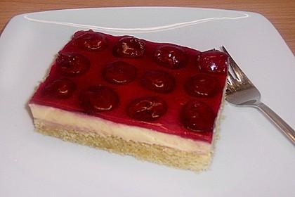 Kirsch - Schmand - Blechkuchen 15