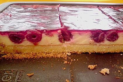 Kirsch - Schmand - Blechkuchen 17