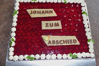 Kirsch - Schmand - Blechkuchen 9