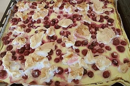Kirsch - Schmand - Blechkuchen 160