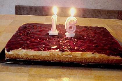 Kirsch - Schmand - Blechkuchen 24