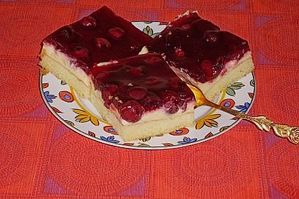 Kirsch - Schmand - Blechkuchen 16