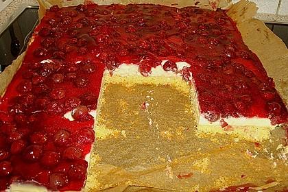 Kirsch - Schmand - Blechkuchen 74