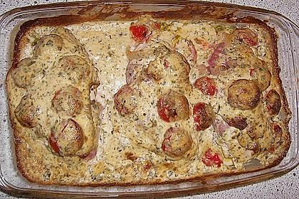 Bresso - Hähnchen überbacken mit Tomaten 15