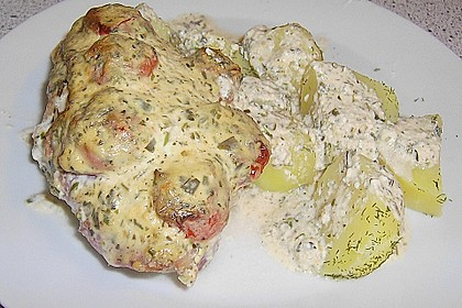 Bresso - Hähnchen überbacken mit Tomaten 7
