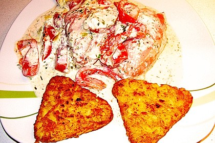Bresso - Hähnchen überbacken mit Tomaten 24