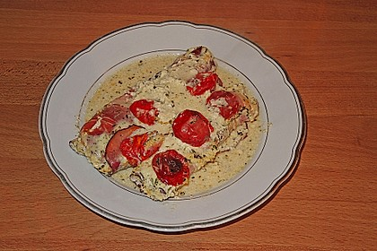 Bresso - Hähnchen überbacken mit Tomaten 8