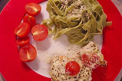 Bresso - Hähnchen überbacken mit Tomaten 4