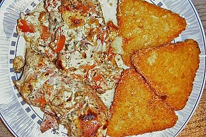 Bresso - Hähnchen überbacken mit Tomaten 14