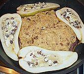 Entenbrust mit Siamkruste und Schmorbirne (Bild)