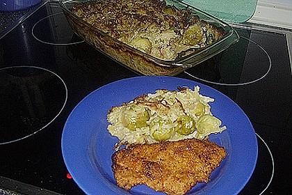 Überbackener Rosenkohl mit Kartoffelkruste 26