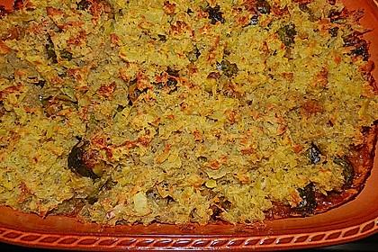 Überbackener Rosenkohl mit Kartoffelkruste 11