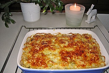 Überbackener Rosenkohl mit Kartoffelkruste 6