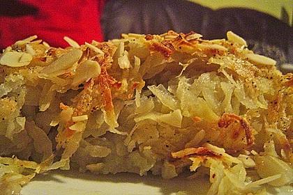 Überbackener Rosenkohl mit Kartoffelkruste 22