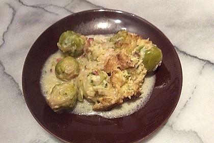 Überbackener Rosenkohl mit Kartoffelkruste 17