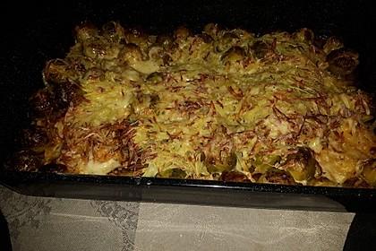 Überbackener Rosenkohl mit Kartoffelkruste 24